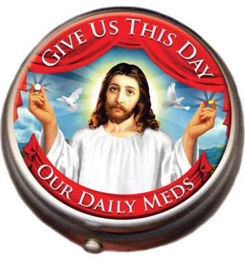 Jesus pill box
