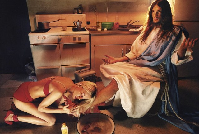 "David LaChapelle's ""Anointing"""