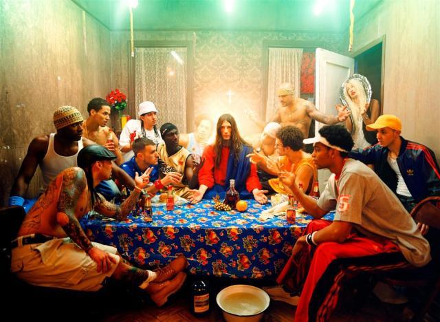 "David LaChapelle's ""Last Supper"""