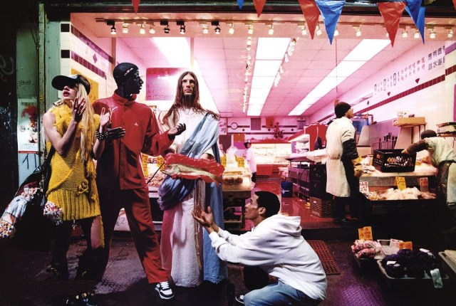 "David LaChapelle's ""Loves and Fishes"""