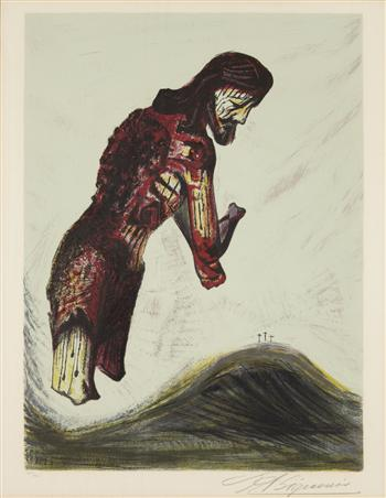 Amputated Christ by David Alfaro Siqueiros