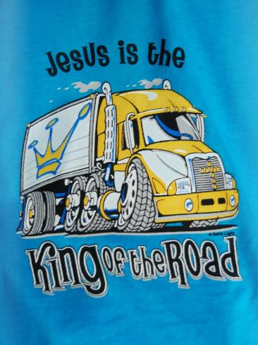 Jesus is King of the Road