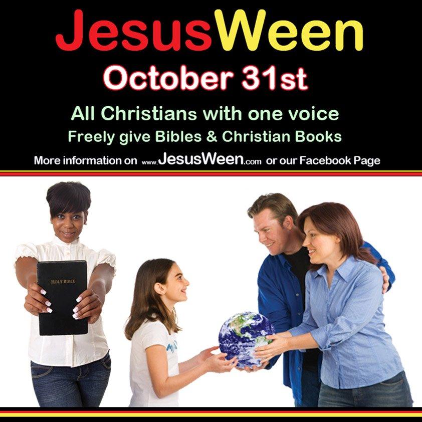 jesusween poster