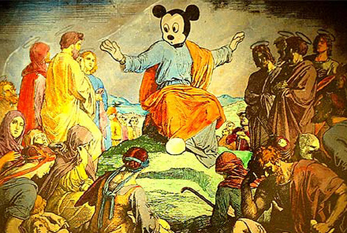 Mickey Mouse Sermon on the Mount