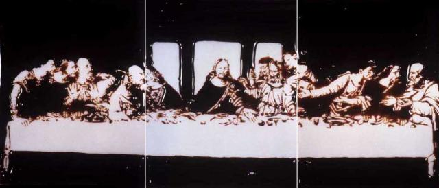 The Last Supper by Vik Muniz
