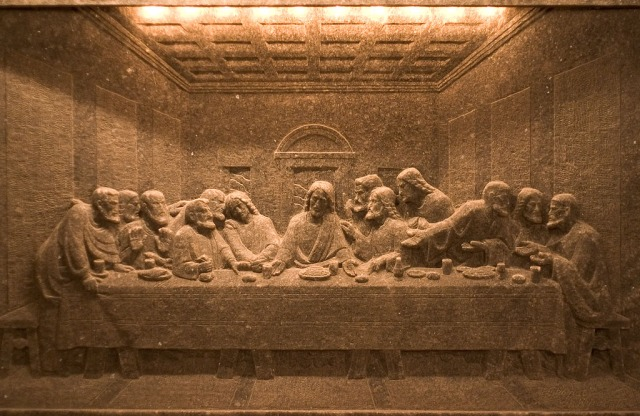 The Last Supper by the Wieliczka salt miners
