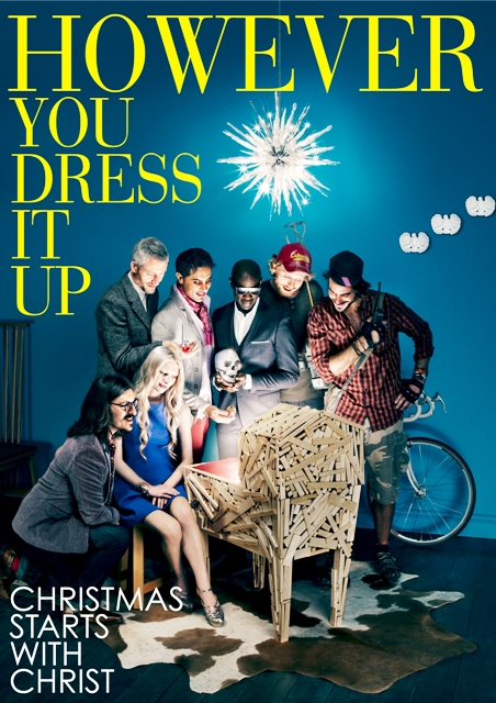 However you dress it up christmas starts with christ