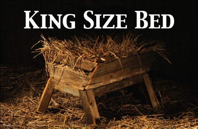 King Size Bed Christmas ad