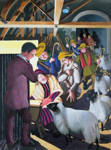 Nativity by Dinah Roe Kendall