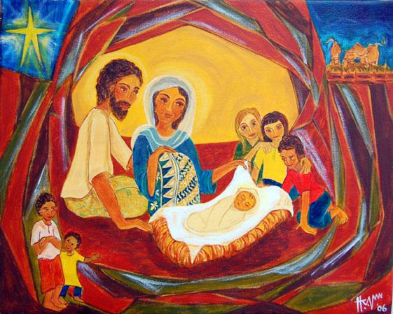 Malaysian nativity