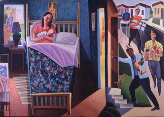 """""""Nativity"""" by James B. Janknegt"""