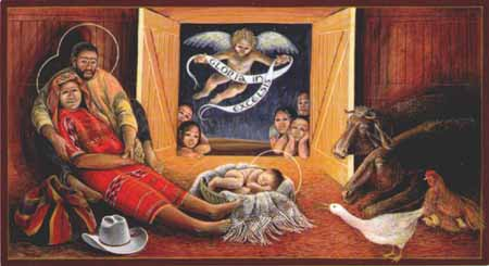 Guatemalan Nativity