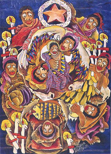 Filippino nativity