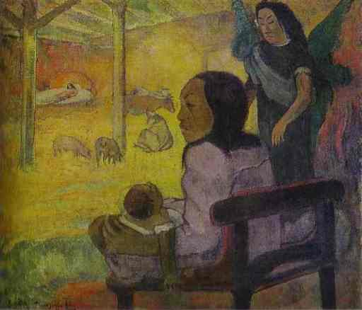 Nativity by Paul Gauguin