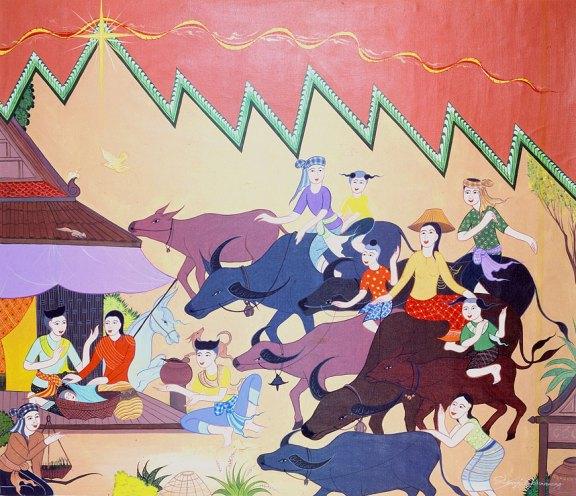 Thai nativity