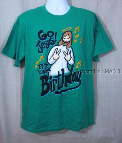 Go Jesus! It's your birthday!