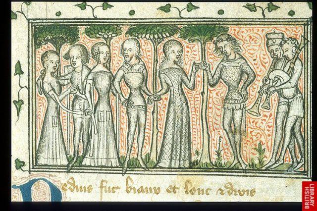 Medieval dance