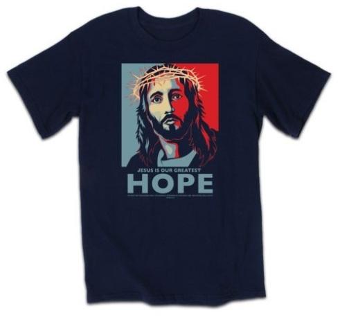 Jesus/Obama Hope poster