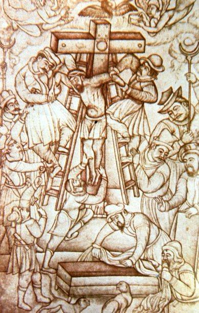 North Indian Jesus crucifixion