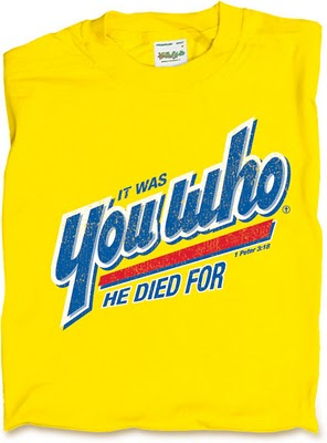 tee time it was you who he died for the jesus question