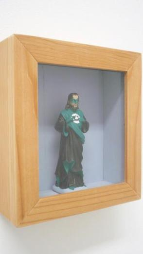 Jesus as the Green Lantern by Igor Scalisi Palminteri