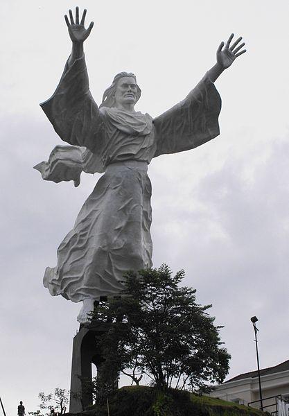 Jesus statue in Indonesia