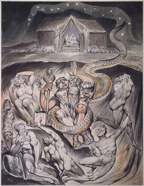 The Old Dragon by William Blake