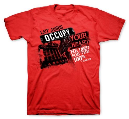 T-shirt_Jesus Occupy