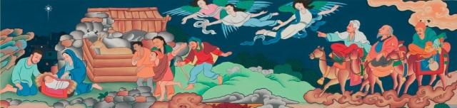 Tibetan nativity