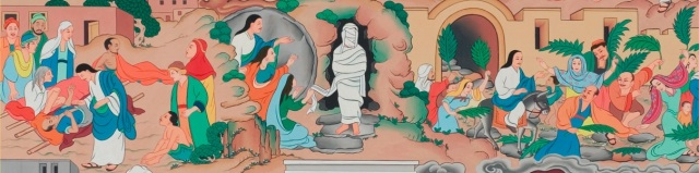 Tibetan Jesus (miracles, Palm Sunday)