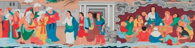 Tibetan Last Supper