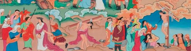 Tibetan Jesus (crucifixion)