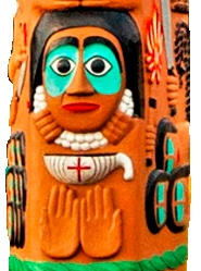 Easter totem pole_Betrayal of Judas