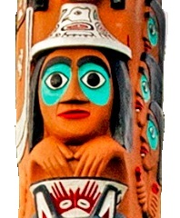 Easter totem pole_Pilate