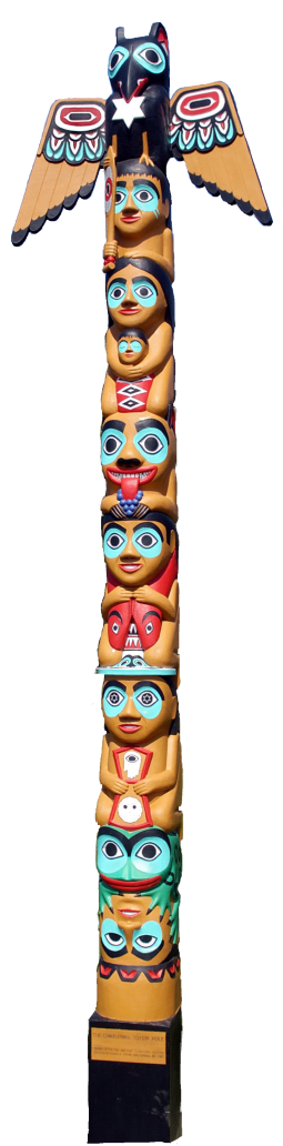 Fison, David_Christmas totem pole