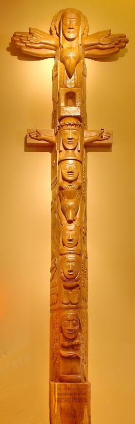 Easter Totem Pole by David K. Fison