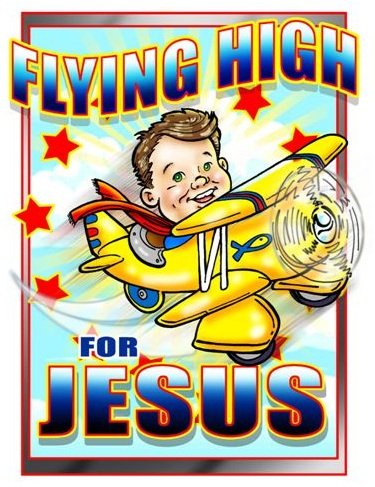 Flying high for Jesus