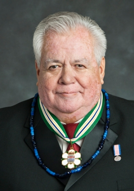 In recognition of his extraordinary artistic contributions to the province, in 2010, Tony Hunt was invested into the Order of British Columbia, the province's highest honor.