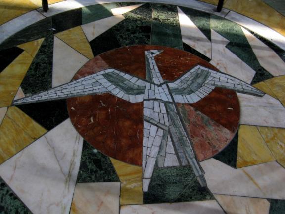 Unity Chapel mosaic