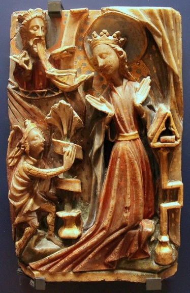 Annunciation panel