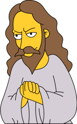 Simpsons Jesus
