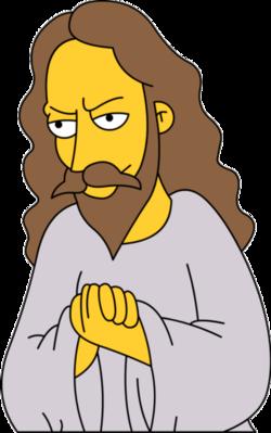 Simpsons Jesus