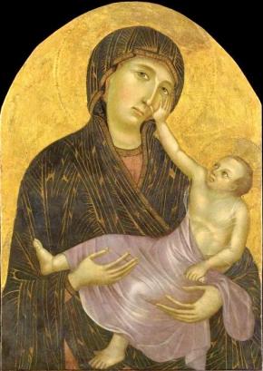 Baby Jesus as little man