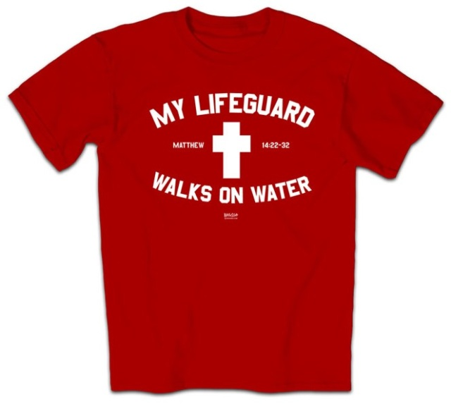 Jesus is my lifeguard