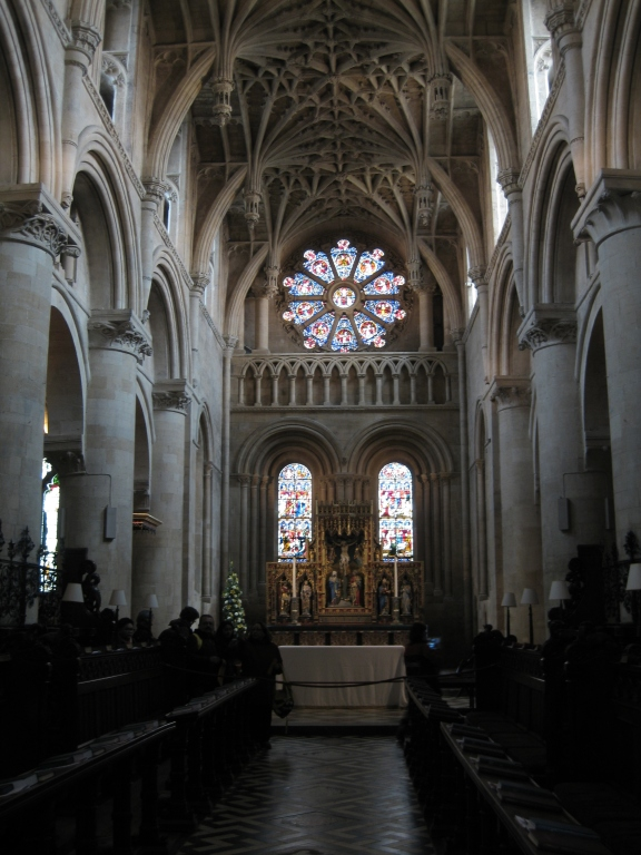 Christ Church Cathedral interior, east end
