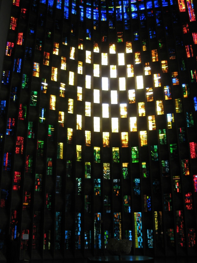 Baptistery Window, Coventry Cathedral