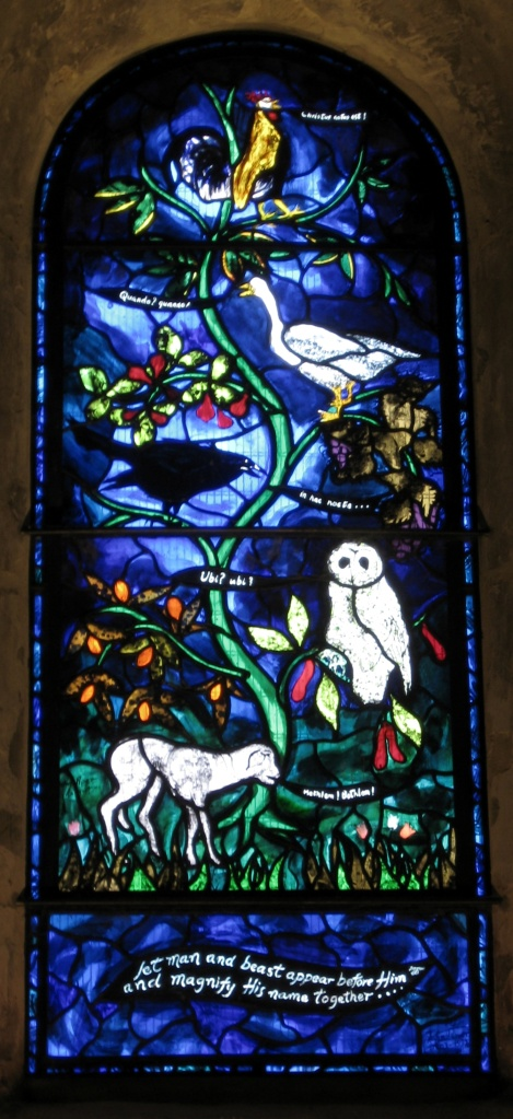 John Piper Nativity window