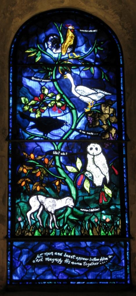 John Piper Nativity window