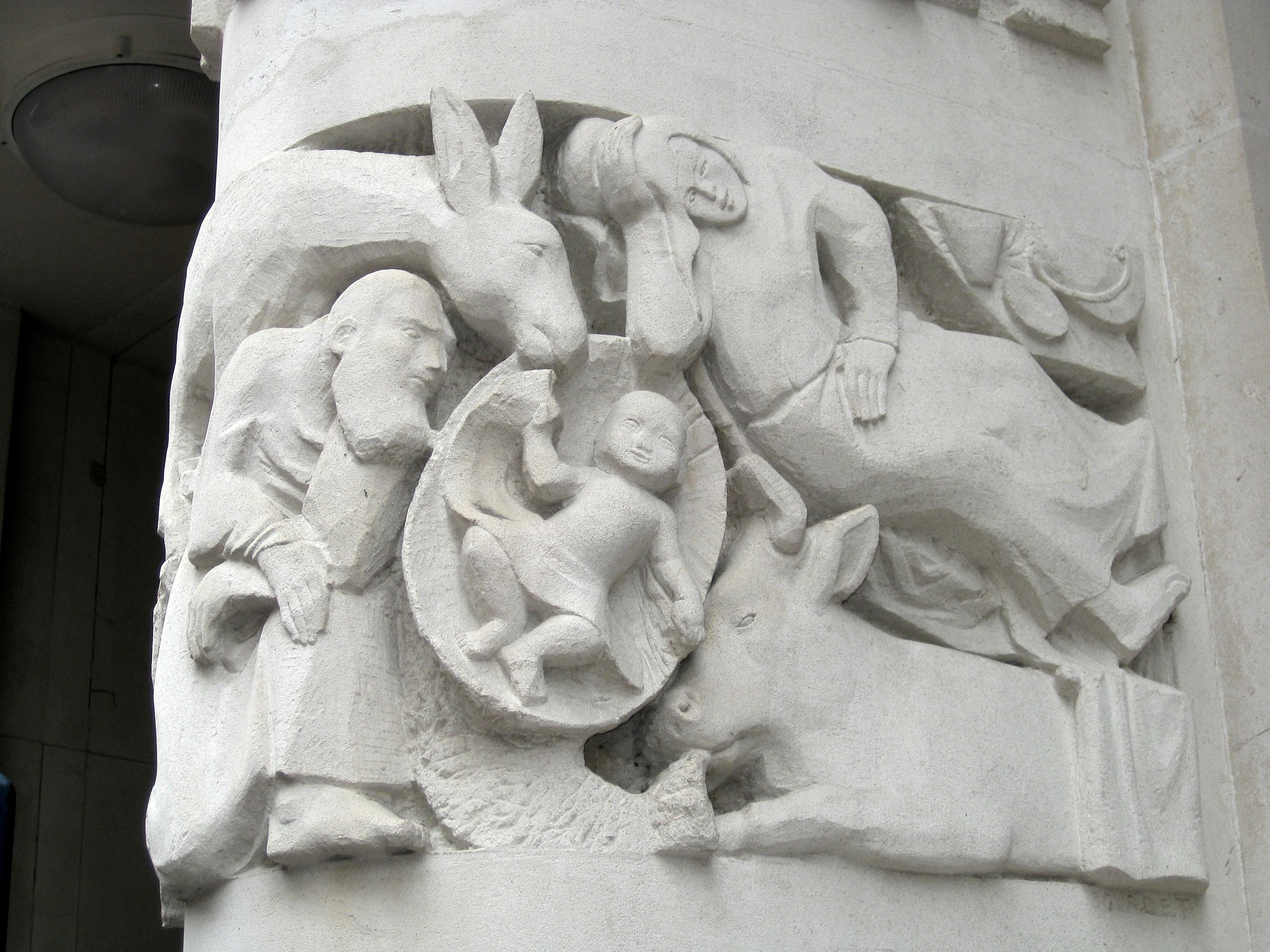 The art of notre dame de france london jesus question
