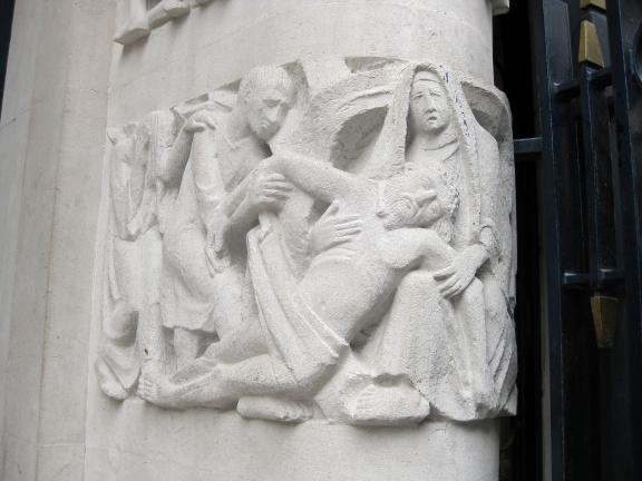 Pieta (Notre Dame de France)